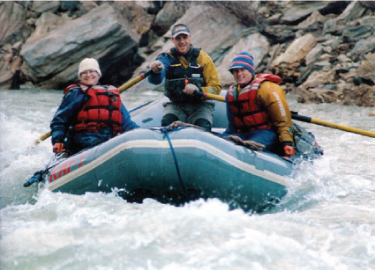 Since a 21st birthday trip to Lake District in England Kathryn has been an inveterate globe trotter, not only exploring the entire North American continent with husband Ken as well as trips through Asia and Europe. Here in Alaska in 2005.